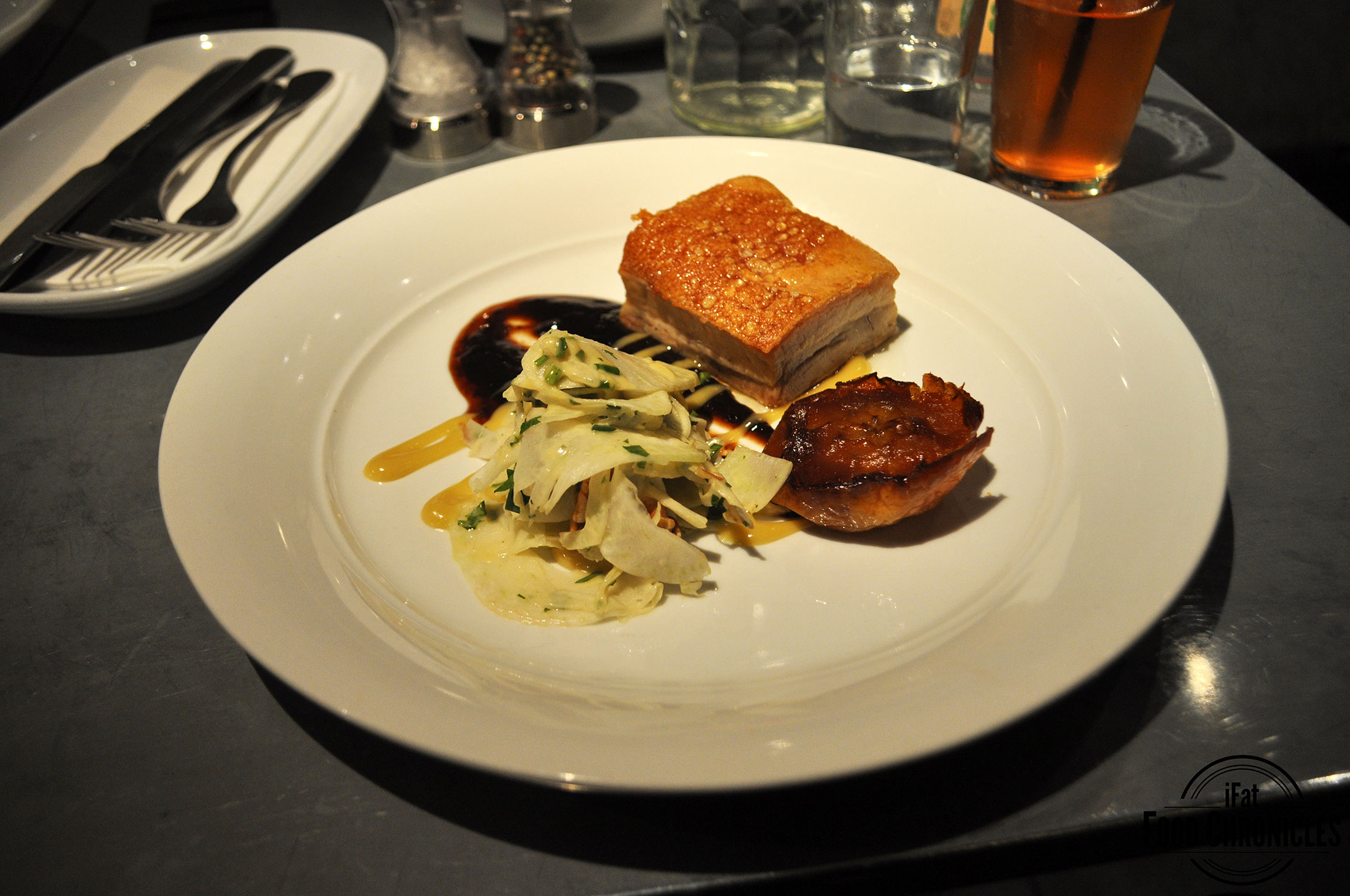 Pork Belly at Jones the Grocer, Sydney