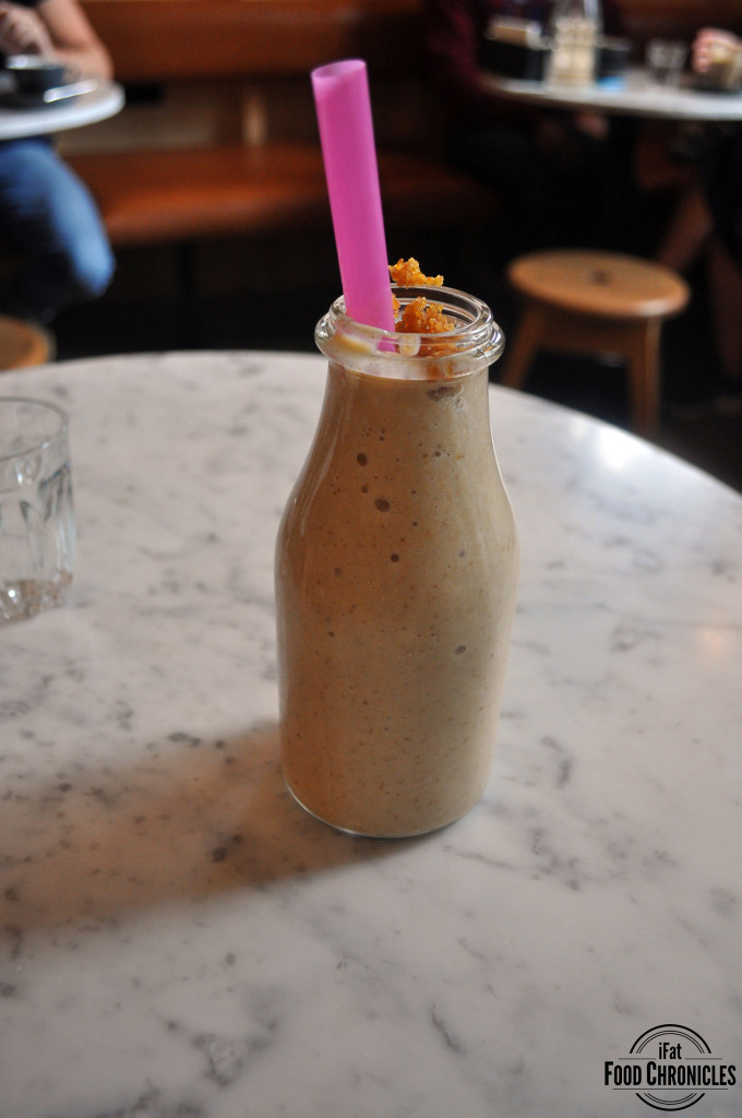 Banana Smoothie at Three Williams, Redfern