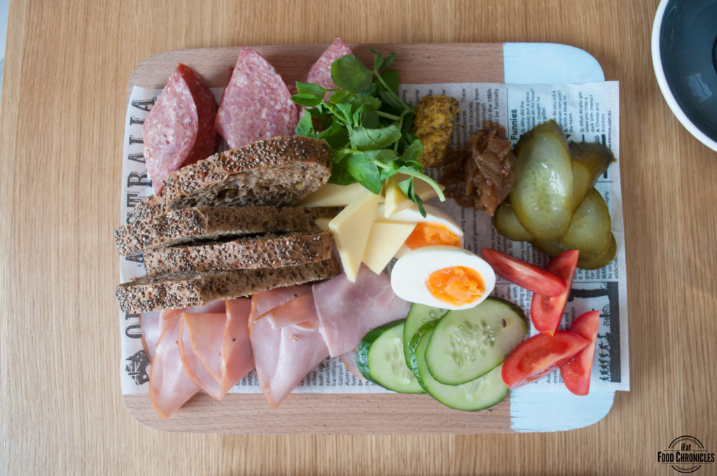 paperboy ploughmans lunch